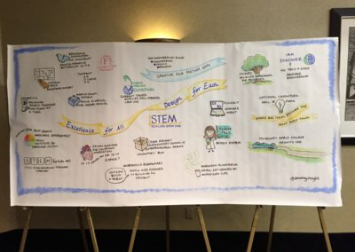 2016 | STEM Conference Durham | Graphic Recording | Caryn Sterling